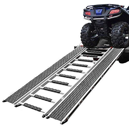 90 Caliber Ramp PRO Snowmobile ATV Loading Ramp with Stud Protectors