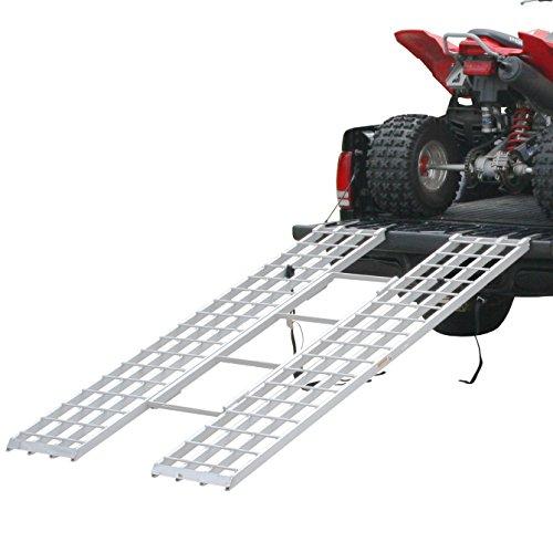 Rage Powersports ITF-8546 Loading Ramp 85 x 46 Tri-Fold ATV for 4x4 Raised Trucks
