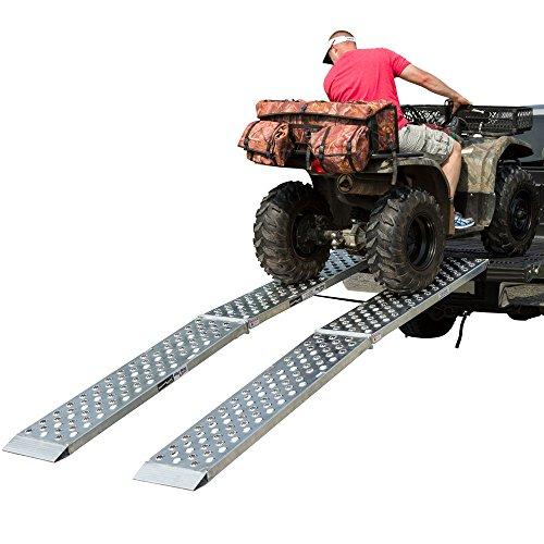 Aluminum Dual Runner 120 x 14 Big Boy EZ Rizer ATV Loading Ramps