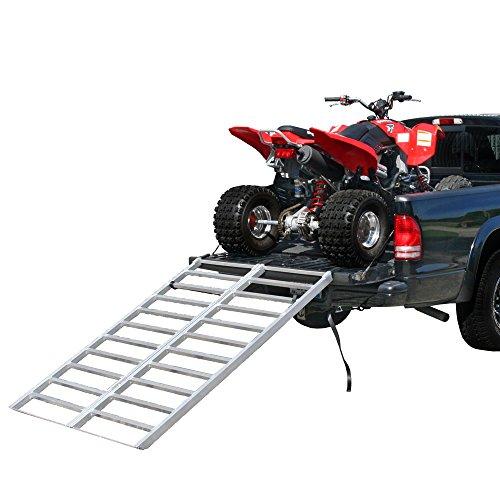 Rage Powersports IBF-7148 Bi-Fold Truck or Trailer ATV Loading Ramp 71 x 48 Aluminum