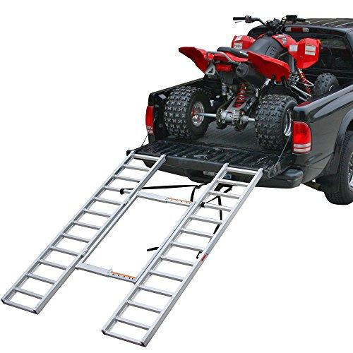 Rage Powersports ITF-7652-A Adjustable Width Aluminum ATV Loading Ramp