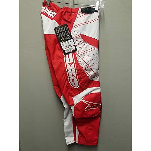 AXO MX Store Pant RedWhite 30