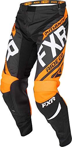FXR Clutch Retro MX Pant 19 36 BlackOrangeGrey