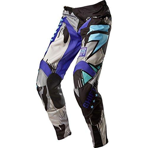 Shift Racing Strike Army Mens MX Motorcycle Pants - PurpleSize 34