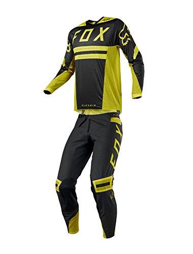 Fox Racing 2018 Flexair Preest Combo Jersey Pants Mens ATV UTV Offroad Dirtbike Motocross Riding Gear Dark Yellow