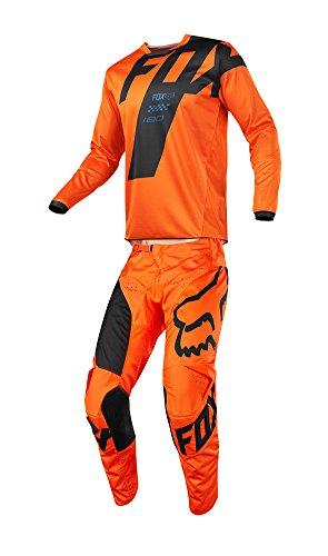 Fox Racing 2018 Youth 180 Mastar Combo Jersey Pants ATV UTV MX Dirtbike Offroad Motocross Riding Gear Orange