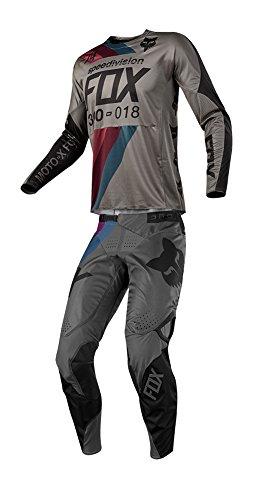 Fox Racing 2018 360 Draftr JerseyPants Adult Mens Combo Offroad MX Gear Motocross Riding Gear Charcoal
