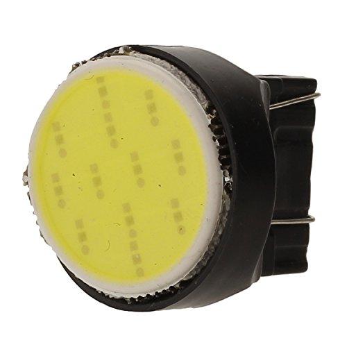 Merssavo 4pcs DC 12V T20 7440 7443 COB LED Auto Turn Signals Backup Brake Light etc White