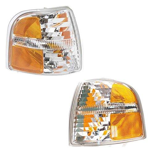 Prime Choice Auto Parts KAPFD20074A3PR Pair of Corner Side Signal Lights