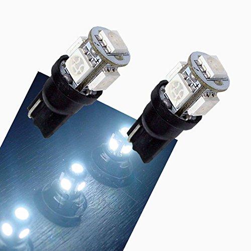 PA 4 X 5-5050 TRUCK LED Turn Light Bulbs 168 2825 T10 194 White 24V