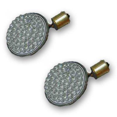 Radiantz Single Intensity Red Turn Signal LED Cluster for Harley Deuce-Dyna-Softail-Sportster-V-Rod