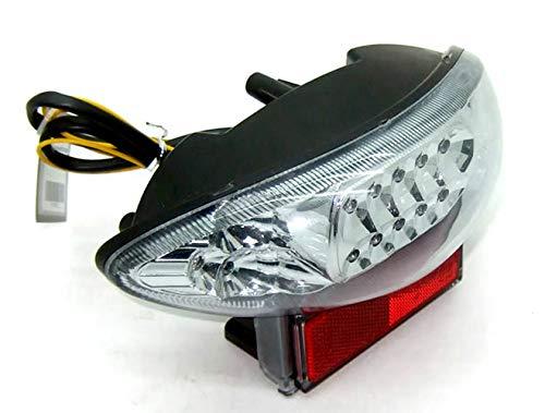 MZS Tail Light LED Integrated Turn Signal Blinker for Suzuki Hayabusa GSXR 1300 GSXR1300 1999-2007 Katana GSX600 GSX600F GSX750 GSX750F 2003-2006 Clear