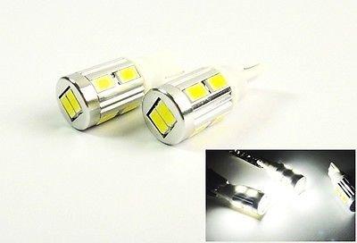 LEDIN 2x T10 168 194 SAMSUNG 10 SMD LED Tail Light Bulb W5W White