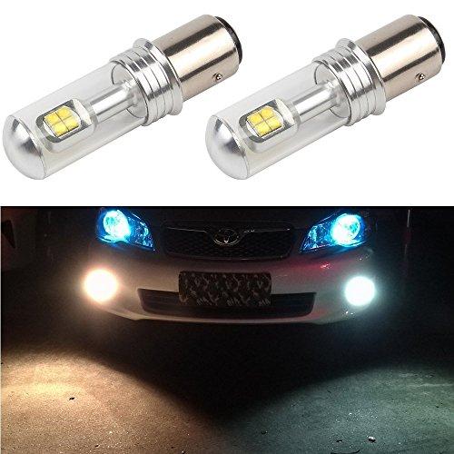 Senzeal 2x New 40W CREE Chip XBD 1157 LED Bulb Brake Lights Auto Car 2057 2357 P215W BAY15D LED Tail Lights Bulb 6000K White