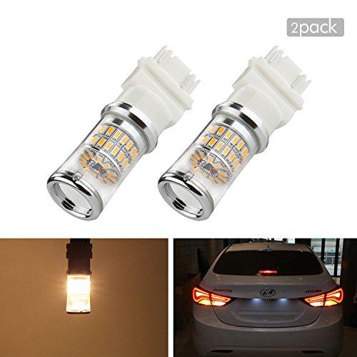 ZISTE LED Bulbs For Cars T25 P277W 3056 3156 3057 3157 Led Bulb For Cars Led Tail Lights Bulbs Led Reverse Lights 3000 - 3500K Warm White