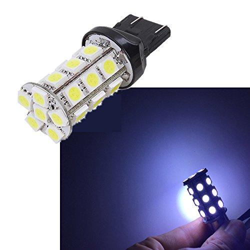 Eaglerich 2pcs T25 27SMD 5050 LED Brake Light Bulb For Universal Car Truck DC12V White