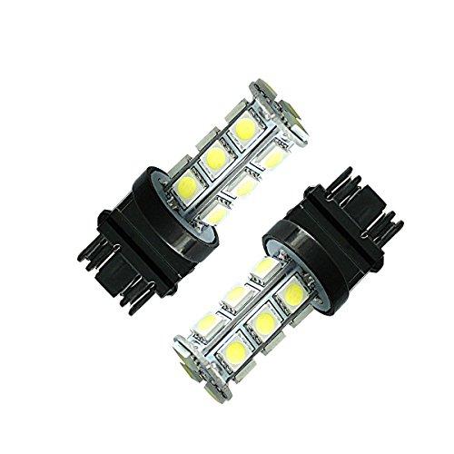 KDL Highlight LED 3157-18 SMD Reverse LED Light Bulbs 3157White brake lights pack of 2