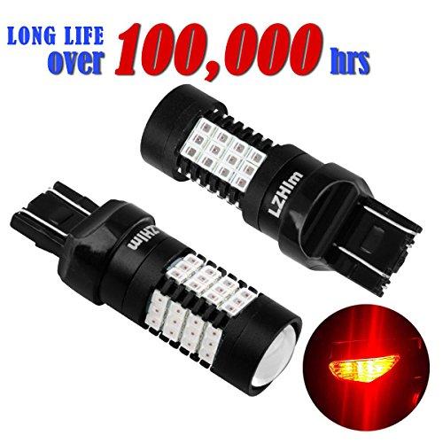LZHlm 7443 7440 T20 Led Bulb 2 pack for Brake Backup Light Parking LightBest Quality of Long life100000hrs