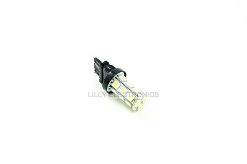 Q-BAIHE 3157 3156 18 5050 SMD LED Brake Light Bulb White