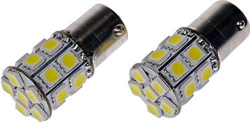 Dorman 1156W-SMD White LED Turn Signal Light Bulb Pack of 2