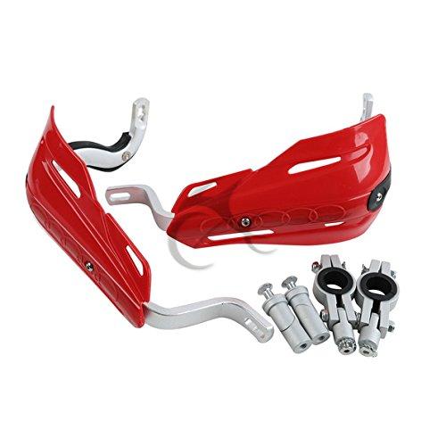 TCMT Red 78 22mm Handlebar Hand Brush Guard Handguards For Honda CR125R CR250R 1992-2007