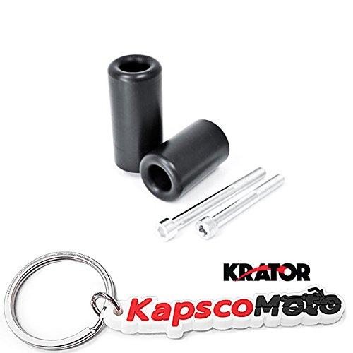 Krator Suzuki SV650 SV650S No Cut Frame Sliders 1999-2002  KapscoMoto Keychain