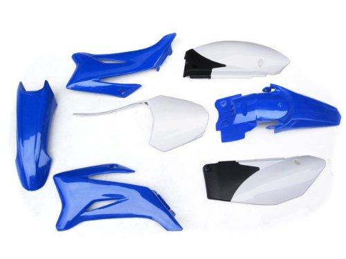 3L Ps43 Yamaha Ttr110 Plastic Fender Kit Blue