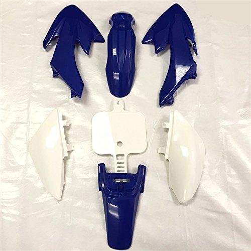HTT Group Motorctcly Blue Plastic Fender Kit Body Work Fairing Kit For Honda CRF XR XR50 CRF50 Clone 125CC Pit Dirt Bike