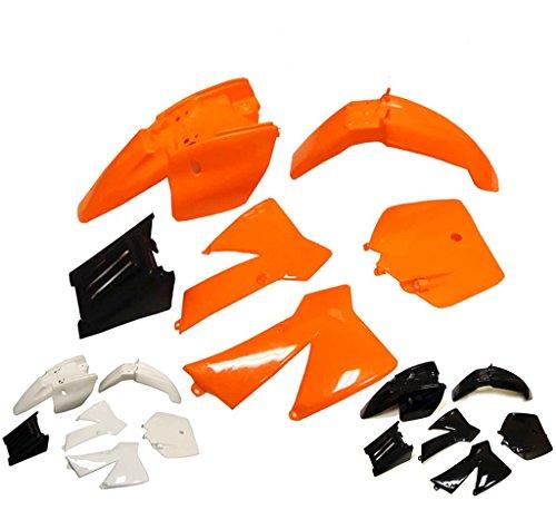 Plastic Fairing Fender Kit for KTM 50 SX 50 Junior 50cc SX Orange