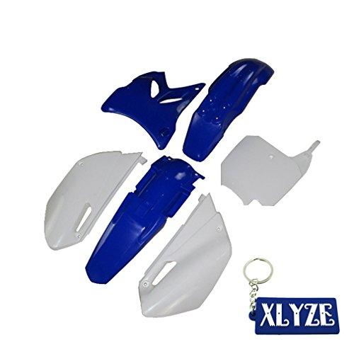 XLYZE Blue-Plastic Fender Kit For Yamaha YZ85 2002 2003 2004 2005 2006 2007 2008 2009 2010 2011 2012 2013 2014 Pit Dirt Bike