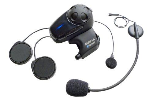 Sena SMH10-11 Motorcycle Bluetooth Headset  Intercom with Universal Microphone Kit Single