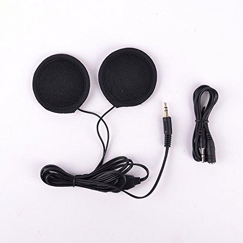 Iztoss Motorbike Motorcycle Helmet Headset Stereo Speakers Earphone for MP3 MP4 GPS