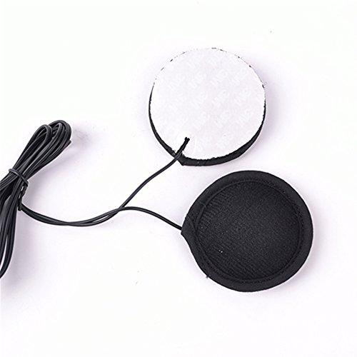 Motorcycle Helmet Headset Earphone Stereo Speakers 3M glue Earphone for MP3 MP4 GPS Phone