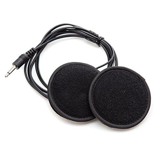 Rebel Radios Mono Helmet Speaker Kit with 35mm Male Connector