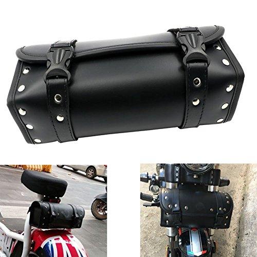 Alpha Rider Motorcycle Front Fork Or Back Saddlebags Storage Tool Pouch Roll Barrel Bag For Harley Honda Yamaha Kawasaki Cruisers