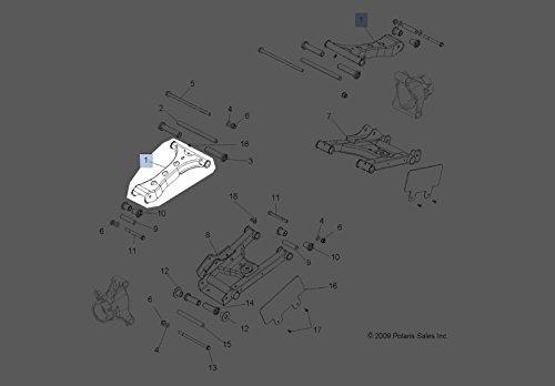 Polaris 2011-2014 RZR 800 EPS Upper Weld-control Arm 1018187-458 New OEM