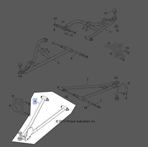 Polaris 2017-2018 RZR XP TRACTOR Lower Control Arm 1021481-385 New OEM