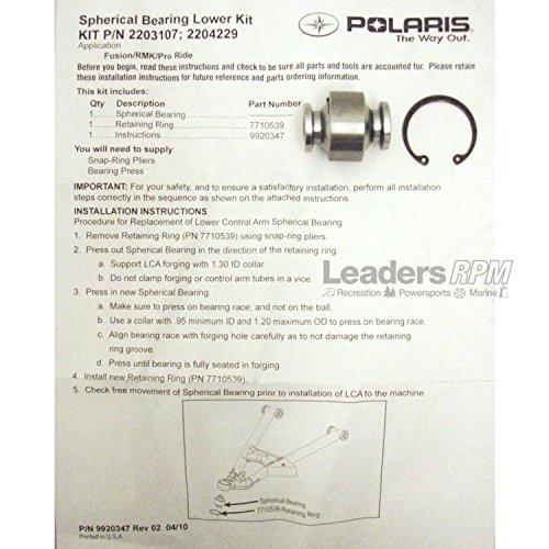 Polaris New OEM Snowmobile Control Arm Lower Spherical Bearing IQ RMK Rush Pro
