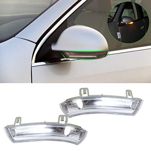 beler 2pcs Left Right Side Mirror Indicator Turn Signal Light Lamp For VW Golf GTI Jetta MK5 Passat Rabbit Eos