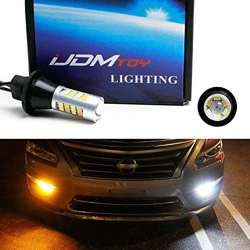 iJDMTOY 2 High Power 42-SMD LED Daytime Running LightsTurn Signal Lights Conversion Kit For 2013-2015 Nissan Altima