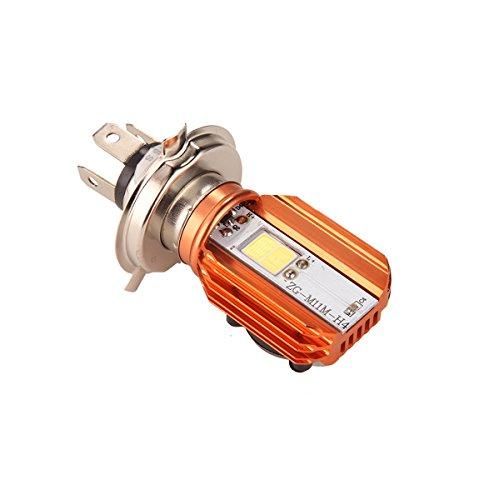 CLighting H4 Headlight Bulb for Motorcycle 20W DC9-85V HiLo Beam LED Headlamp