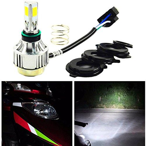 H4 Led Motorcycle Headlight Bulb Super Bright 6500k 2500lm 24w Dc12v