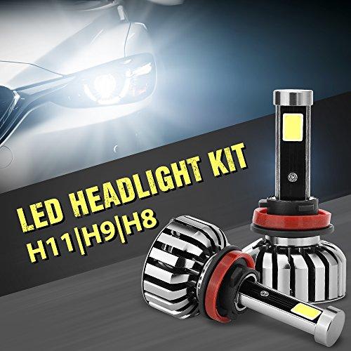 N7 Auto LED Light Headlight Bulb Vehicle Car Beam Bulb Kit 6000K H11