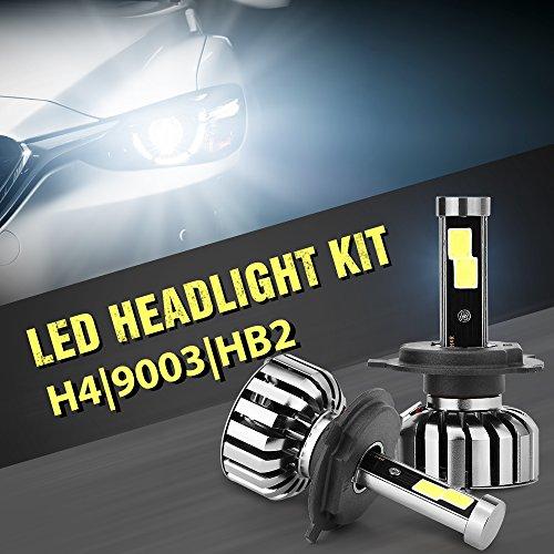 N7 Auto LED Light Headlight Bulb Vehicle Car Beam Bulb Kit 6000K H4