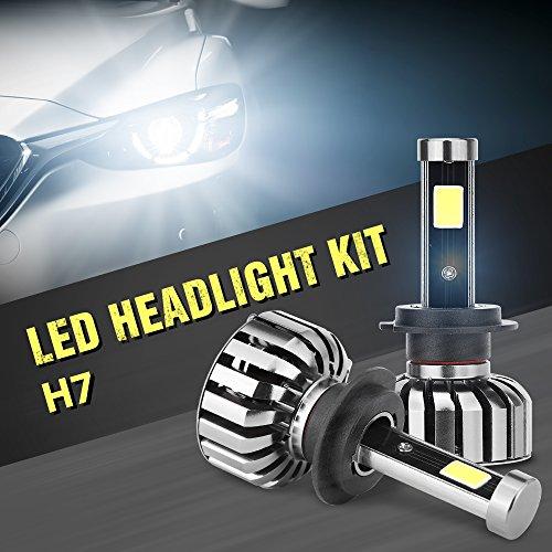N7 Auto LED Light Headlight Bulb Vehicle Car Beam Bulb Kit 6000K H7