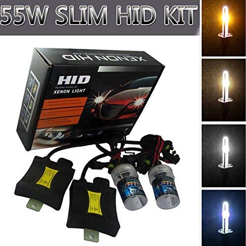 Universal Xenon HID Headlight 55W 6000K For Car Vehicle 12V