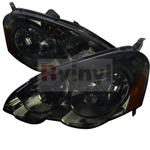 Acura RSX 2002 2003 2004 2002 2003 2004 Euro Headlights - Smoke