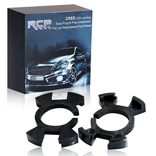 RCP -H1AD01US- H1 LED Headlight Bulb Adapter Holder for Honda Odyssey High Beam 2pcs