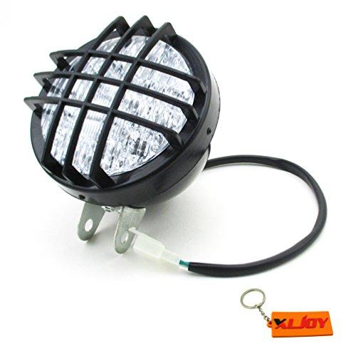 XLJOY 12V LED Head Light Front Headlight for ATV Quad 4 Wheeler Go Kart Roketa SunL Taotao