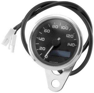 Bikers Choice Electronic Speedometer WBlue Backlit LED
